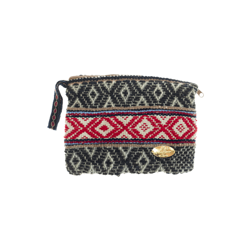 Iliana Medium Woven Clutch # 2 - Josephine Alexander Collective
