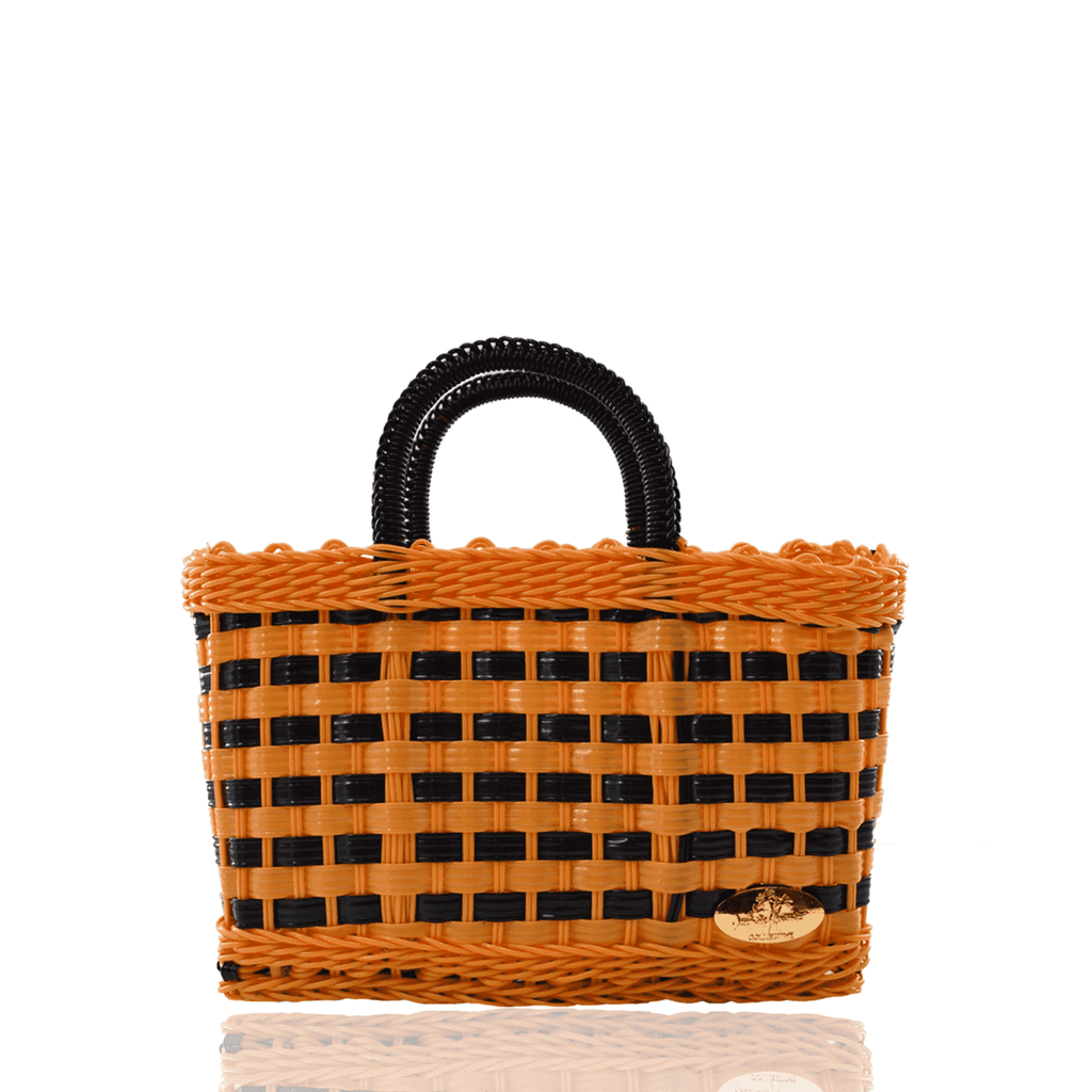 Jessica Basket Bag in Black Magic - Josephine Alexander Collective