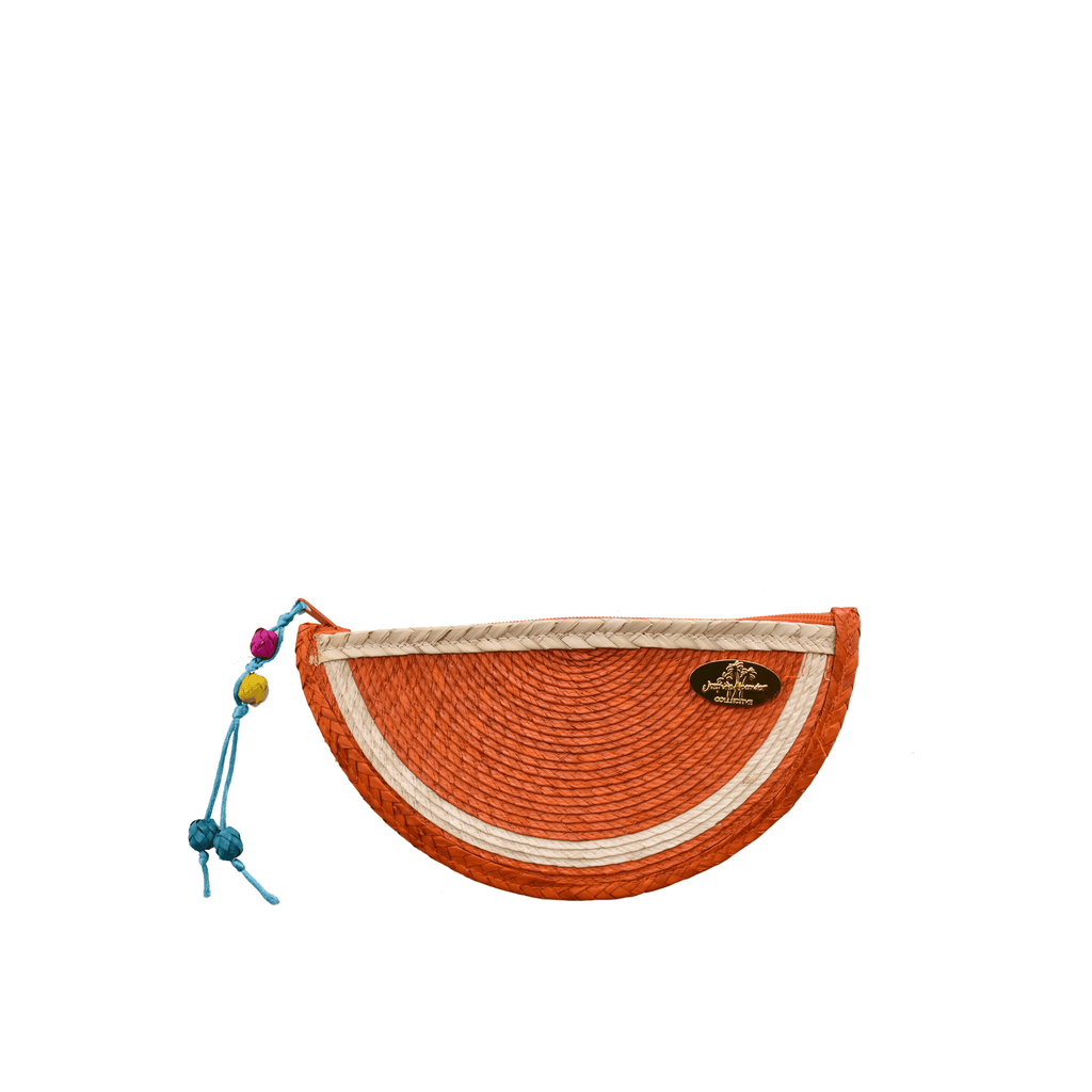 Juicy Orange Clutch - Josephine Alexander Collective