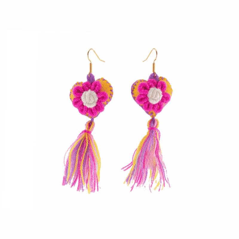 The Love-ly Earrings in My Sweet Rainbow- Medium - Josephine Alexander Collective