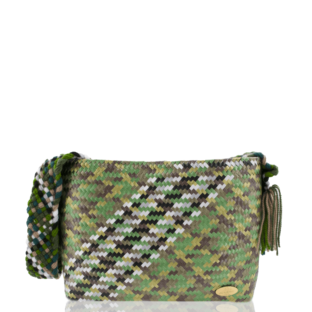 Colleen Crossbody in Camo Splash of Zebra - Josephine Alexander Collective