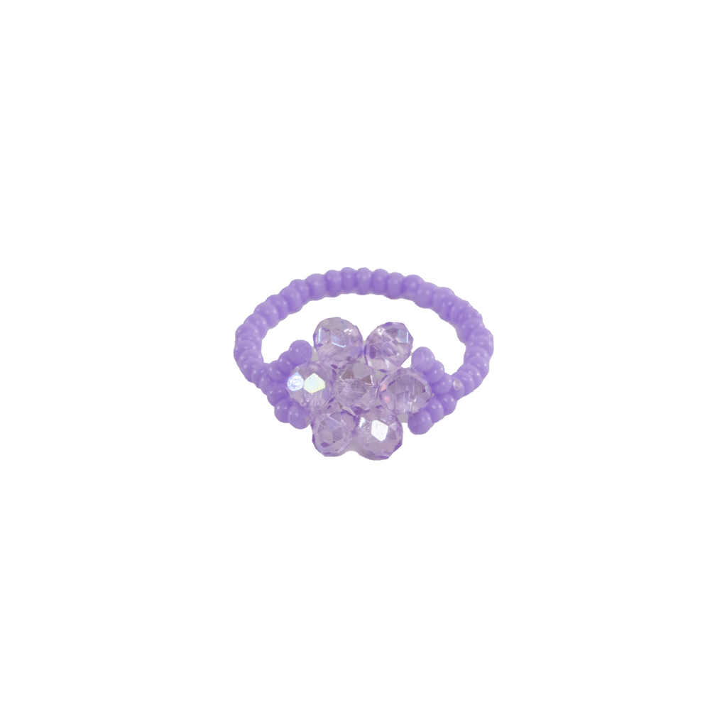 Flower Ring in Lavender - Josephine Alexander Collective
