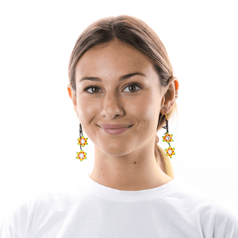 Ivy Earrings in Spring - Josephine Alexander Collective