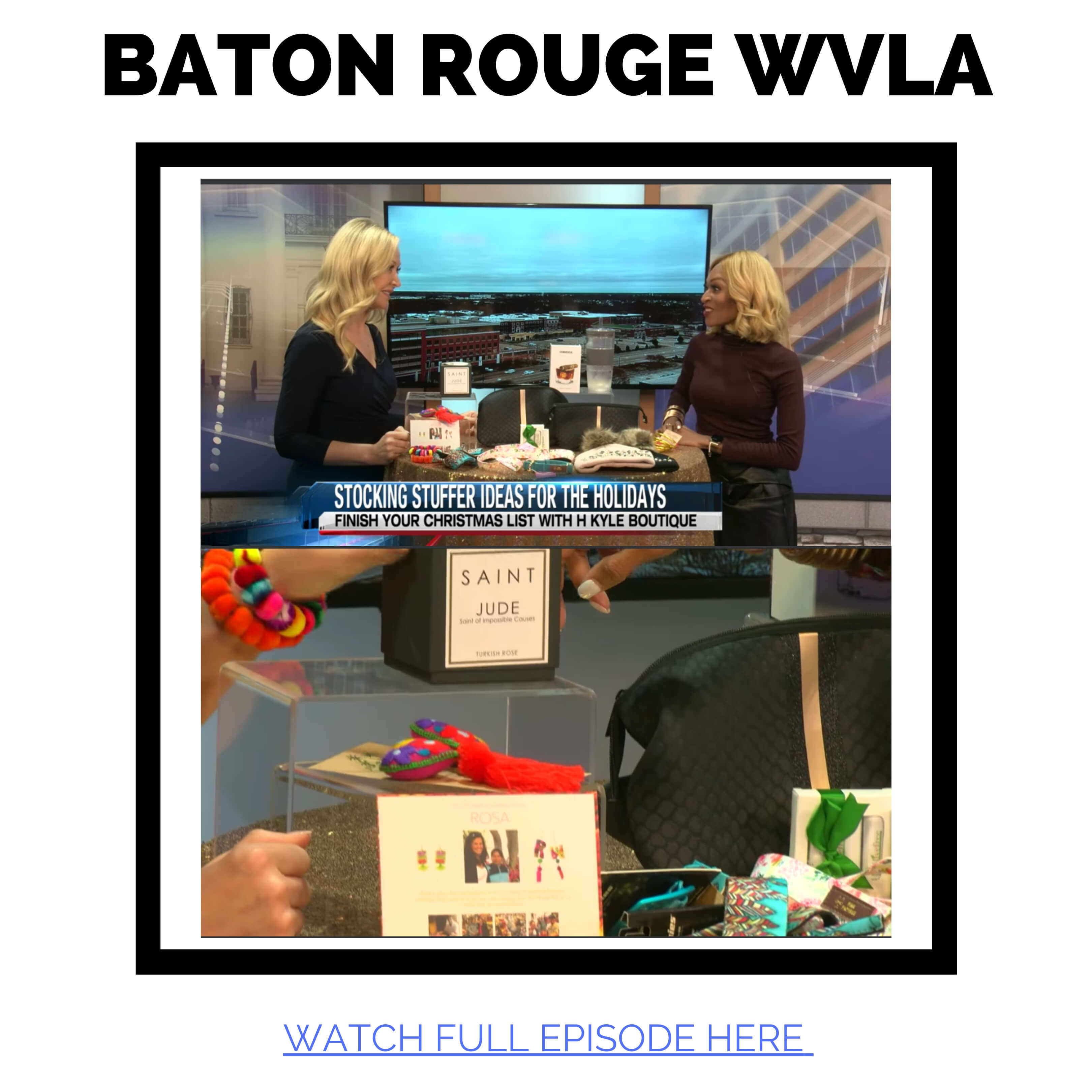 JAC featured in Baton Rouge WVLA