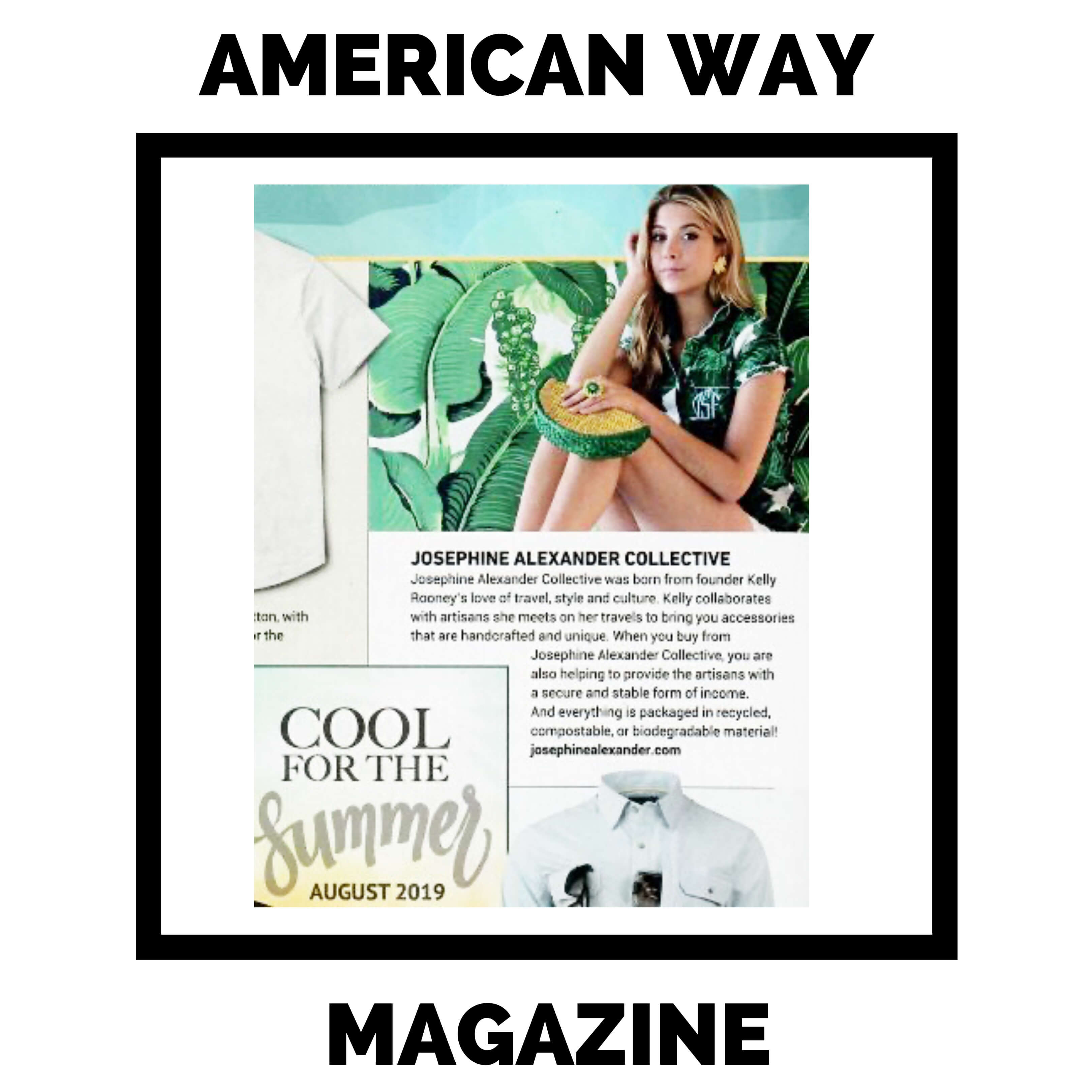 Jax featured in American Way