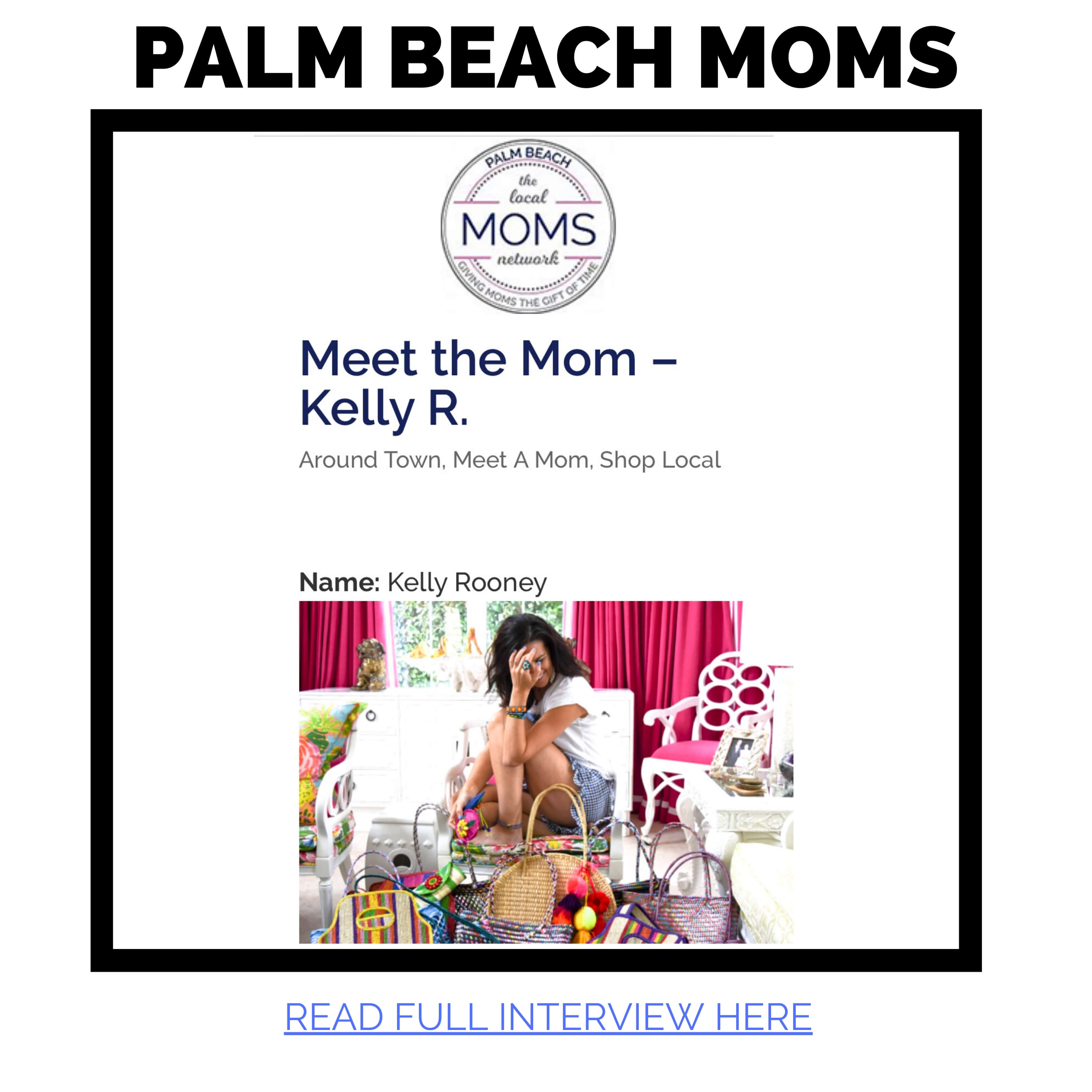 Kelly Rooney CEO of JAC feature in Meet the mom