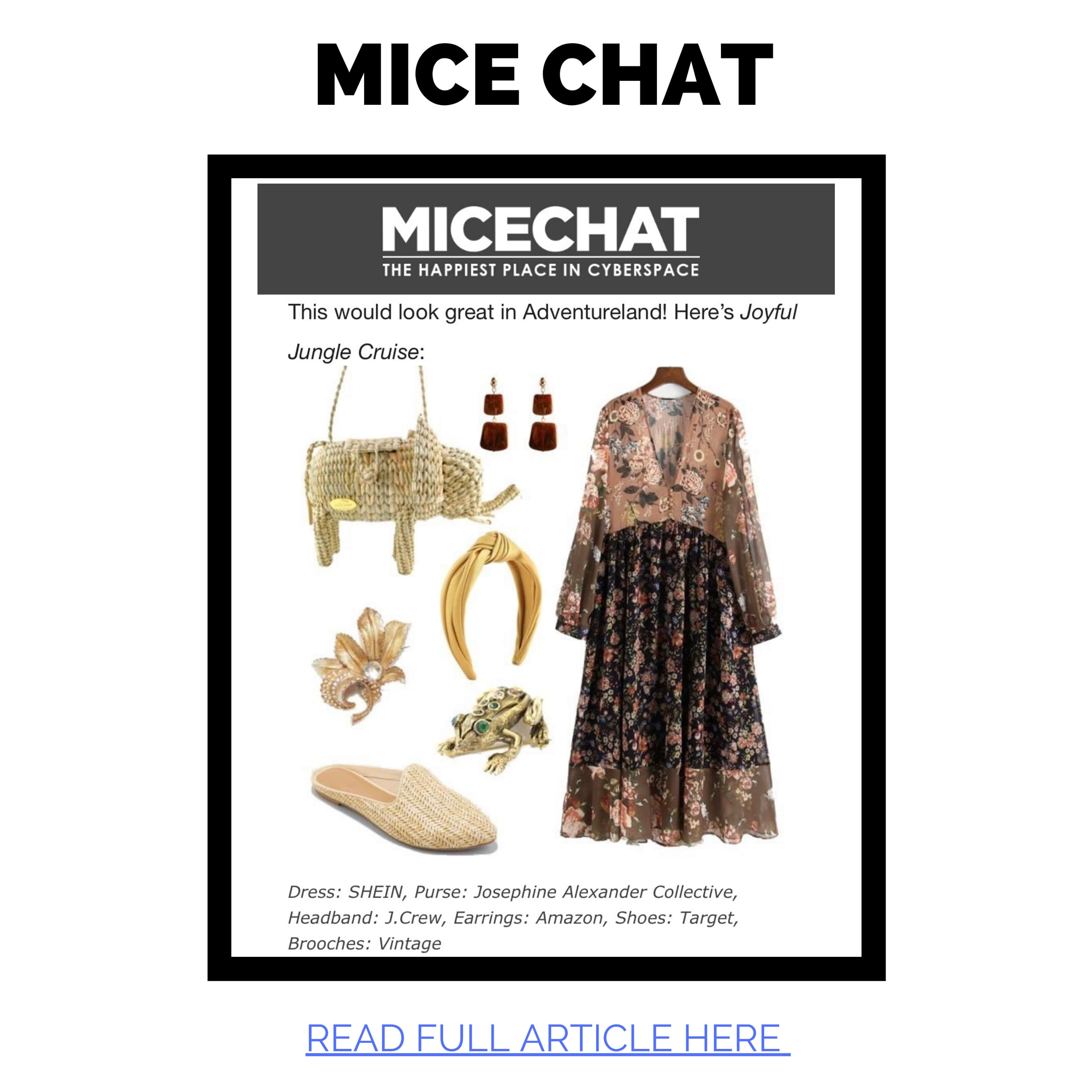 JAC featured in Mice Chat