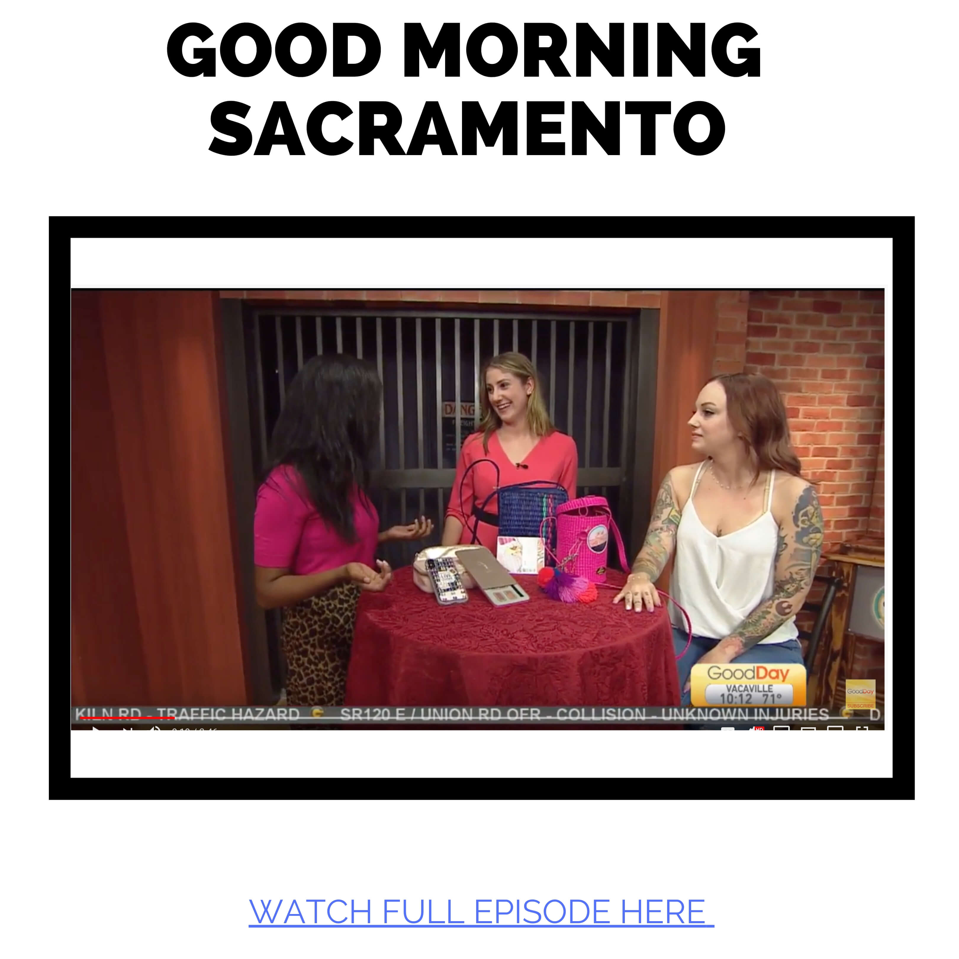 JAC featured in Good Morning Sacramento