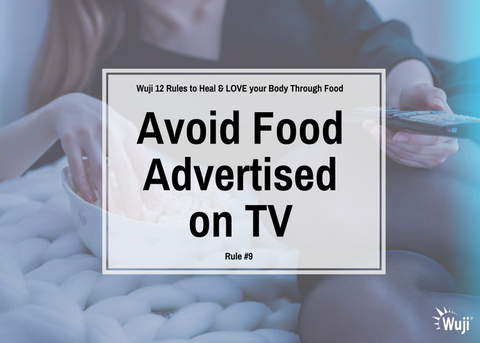 Avoid Food Advertised on TV