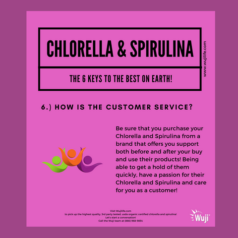 Organic Chlorella and Spirulina