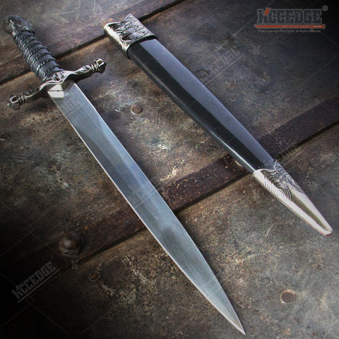 "14"" Medieval Assassin Dagger with Stainless Steel Blade"