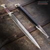 "Image of 14"" Medieval Golden Triangle Dagger with Stainless Steel Blade"