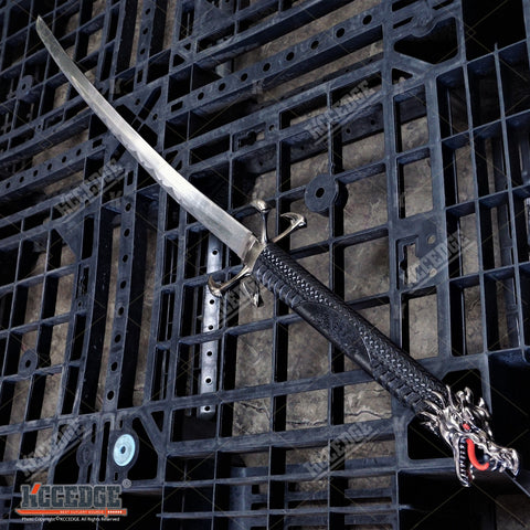 "42"" Dragon SAMURAI Carbon Steel KATANA Japanese Sword"