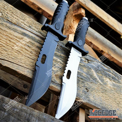 CSGO BOWIE KNIFE Fixed Blade Huntsmen Survival Jungle Knife