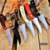 "Image of 7"" ELK RIDGE SKINNING FIXED BLADE KNIFE Fishing Outdoor Razor HUNTERS SURVIVAL Full Tang Knife w/ Sheath 6 Colors To Choose"