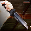 "Image of 10"" Full Tang Tanto Blade Camping Hunting Knife W/ ABS Handle & Sheath"