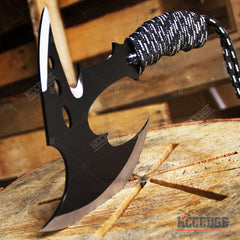 "11"" COMBAT HUNTING TOMAHAWK THROWING AXE Hunting Zombie Survival Hatchet Tactical Battle AXE"