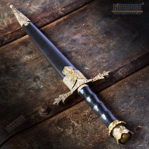"13.5"" Holy Angelic Medieval Dagger with Stainless Steel Blade"