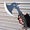 "Image of 11"" COMBAT HUNTING TOMAHAWK THROWING AXE Hunting Zombie Survival Hatchet Tactical Battle Ax"