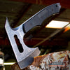 "Image of 10"" Tactical Hunting Camping Hammer Axe w/ G10 Handle"