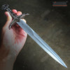 "Image of 17.5"" Medieval Serpent Crusader Dagger with Stainless Steel Blade"