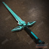 "Image of 1:1 LARGE ADULT SIZE 41"" SAO Kirito Elucidator Sword Art Online / Dark Repulser / Lambent Light Asuna Yuuki Rapier Metal Sword"