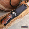 "Image of 8.75"" FIXED BLADE CLEAVER KNIFE FOREST HUNTING BUCKSHOT RAZOR CLEAVER Blade w/ Sheath"