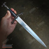 "Image of 16"" Medieval Fleur de Lis Dagger with Stainless Steel Blade"