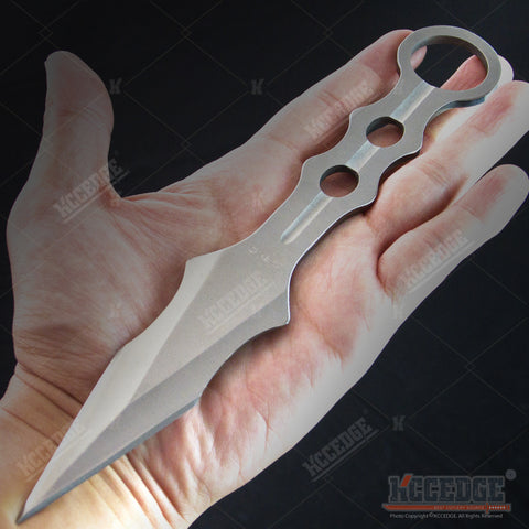 "9"" Tactical Outdoor Gear Survival Throwing Knife Dagger with Sheath"