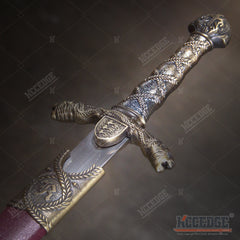 "15.5"" Sir Lancelot Medieval Dagger with Stainless Steel Blade"