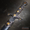 "Image of 15.5"" Medieval Crusader Knight's Templar Short Sword Dagger with Stainless Steel Blade"