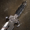 "Image of 12.5"" DRAGON FANTASY CLAW Collectors Hunting Knife Twin FIXED BLADE Dagger Sword"