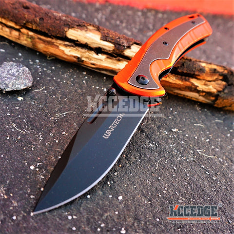 "5PC HOT COMBO SET 7.75"" COMBAT RESCUE HUNTING Blade ASSISTED OPEN Folding Knife"
