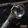 "Image of 29.75"" Double Blade Steel Fantasy Dragon Dagger with Crystal Ball Claw"