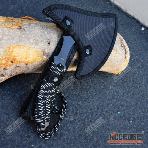"11"" COMBAT HUNTING TOMAHAWK THROWING AXE Hunting Zombie Survival Hatchet Tactical Battle Ax"