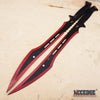 "Image of 27 1/8"" TACTICAL SURVIVAL Dual Twin Ninja Swords Magnetic FULL TANG Blade COMBAT"