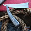 "Image of 10.5"" Sweeney Todd Straight Blade Barber Razor Pocket Knife"