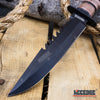"Image of 12"" MILITARY USMC Tactical Fixed Blade Hunting Knife w/ Comfortable Grip"