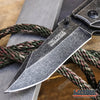 "Image of 8.75""TAC FORCE MILITARY Pocket Folding Knife w/ Glass Breaker"