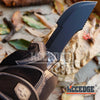 "Image of 11"" Outdoor CAMPING Fixed Blade HUNTING Knife Survival HIKING RAZOR Tracker"