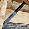 "Image of 7.5"" MINI Military Combat Survival Outdoor Jungle Rescue Fixed Blade EDC Knife w/ Nylon Sheath"