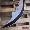"Image of 27"" Biohazard Zombie Killer Machete Axe w/Two Tone Blade"