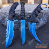 Image of 3PC CSGO Tactical Fixed Blade Knife Set - Karambit, Huntsman, Combat Knife