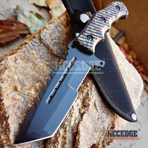 "4 COLORS 9"" MILITARY TACTICAL COUNTER-STRIKE CSGO Hunting Bowie Survival KNIFE"