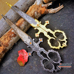 "10"" Collectible Renaissance Bodice Scissors/Dagger"