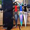 "Image of 3PC 6.5"" Double Edged ASSORTED Technicolor NINJA KUNAI THROWING KNIFE SET XMAS"