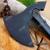 "Image of 15.5"" Rubber Training Axe w/ Fiberglass handle"