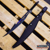 "Image of 27"" Ninja Machete Curved HOOK BLADE Shinobi Sword Technicolor Survival Tactical"