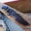 Image of 3PC CSGO Black HUNTSMAN KNIFE + Green BAYONET KNIFE + DAMASCUS ETCHED KARAMBIT