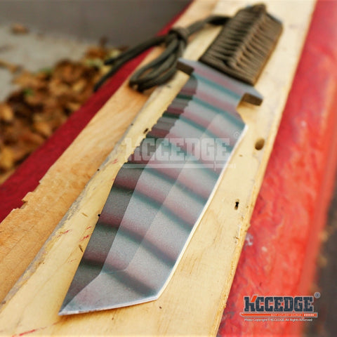 "12"" FULL TANG Heavy Duty Survival Fixed Blade Knife"